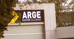 The ARGE Nonntal is a cultural venue with an arty, studenty, friendly atmosphere.