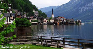 Hallstatt in the Salzkammergut: Crade of Austria.