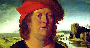 Paracelsus, the legendary Renaissance doctor after whom the Private Medical University was named.