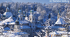 Salzburg in Winter is a special attraction by itself.