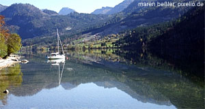 There are plenty of things to see in the Salzkammergut.