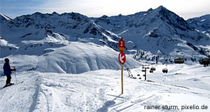 Saalbach-Hinterglemm is famous beyond Austria for its excellent slopes.