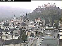 Salzburg Webcam overlooking the Altstadt