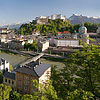 Panorama View on Salzburg
